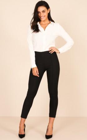 Hierarchy Pants in Black