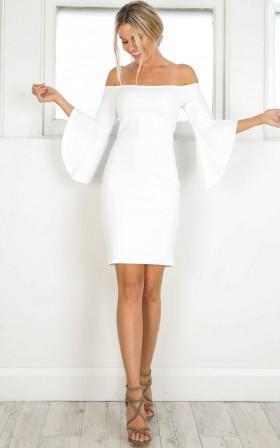 Im still standing dress in white
