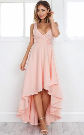 Magic Dancer dress in blush