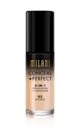 Milani - Conceal And Perfect 2-in-1 Foundation in natural