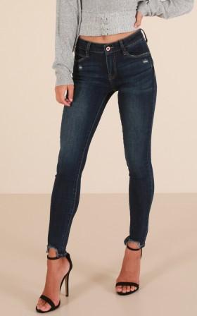 Kimmie skinny jeans in dark wash