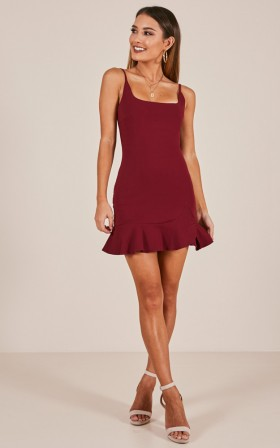 Sexy Sophisticated A-line  Hidden Back Zipper Short Round Neck Party Dress  With Ruffles