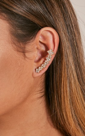 Hands I Can Hold ear cuff in gold
