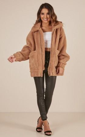 Point Blank jacket in mocha