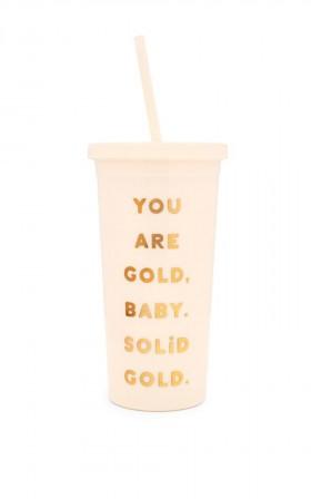 Ban.do - Sip Sip Tumbler You are Gold