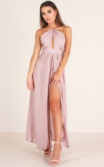 Love This City maxi dress in mauve