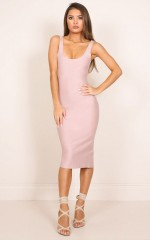 Audrey dress in mocha