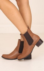 Therapy Shoes - Grande in Brown