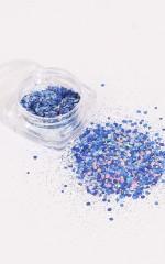 Glitter Dust in  sapphire blue