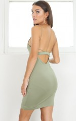 The Exception Dress in Khaki