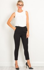 Overtime pants in black
