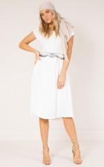Louisiana Dress in white