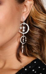 Amnesia Earrings in silver