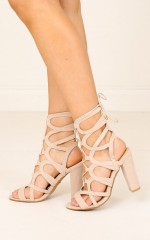 Billini - Barrington in nude suede