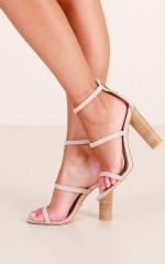 Billini - Lapaz in blush suede