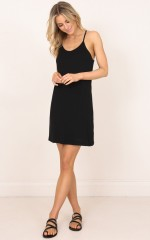 Body Of Lies dress in black