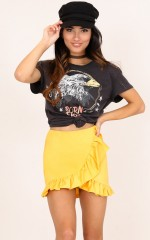 Bright Future skirt in mustard