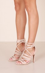 Billini - Caley in nude suede