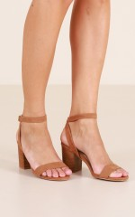 Billini - Carlina in tan suede