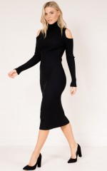 Case of You Knit Dress in black