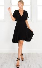Champion Dress in black