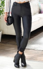 Don't Hold Back Jeggings in Black