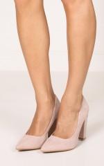 Billini - Elli in blush suede