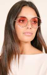 Know This sunglasses in pink