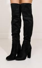 Billini - Lara in black suede