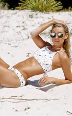 Lexi Bikini in pebble print