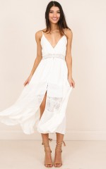 Lily Field maxi dress in white