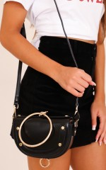 More Than Ever bag in black