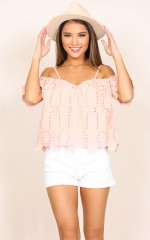 Park Avenue Top in blush