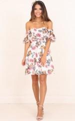 Rhapsody Dress in Blush Floral