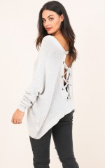 Own It knit in grey