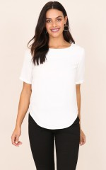 Role Model Top in White