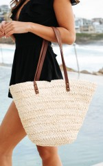 Set Sail bag in natural