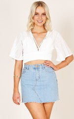 Spell On You top in white