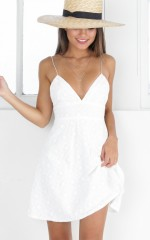 Sunshine Of Your Love dress in white
