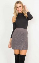 Sweet Day skirt in charcoal