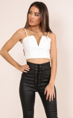 Sweet Symphony top in white