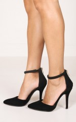 Billini - Tatiana in black suede