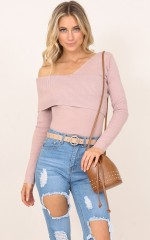 This Matters top in dusty pink