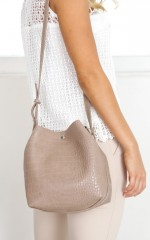 Sophistication Bag in mocha
