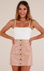 West Street skirt in blush
