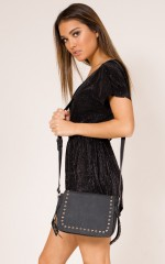 Rose Ceremony Bag in black
