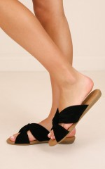 Bamboo Shoes- Tamber in black