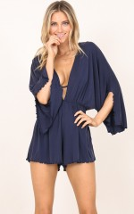 All Day playsuit in navy
