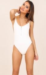 Bring It Back bodysuit in ivory