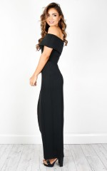Champagne Kisses dress in black